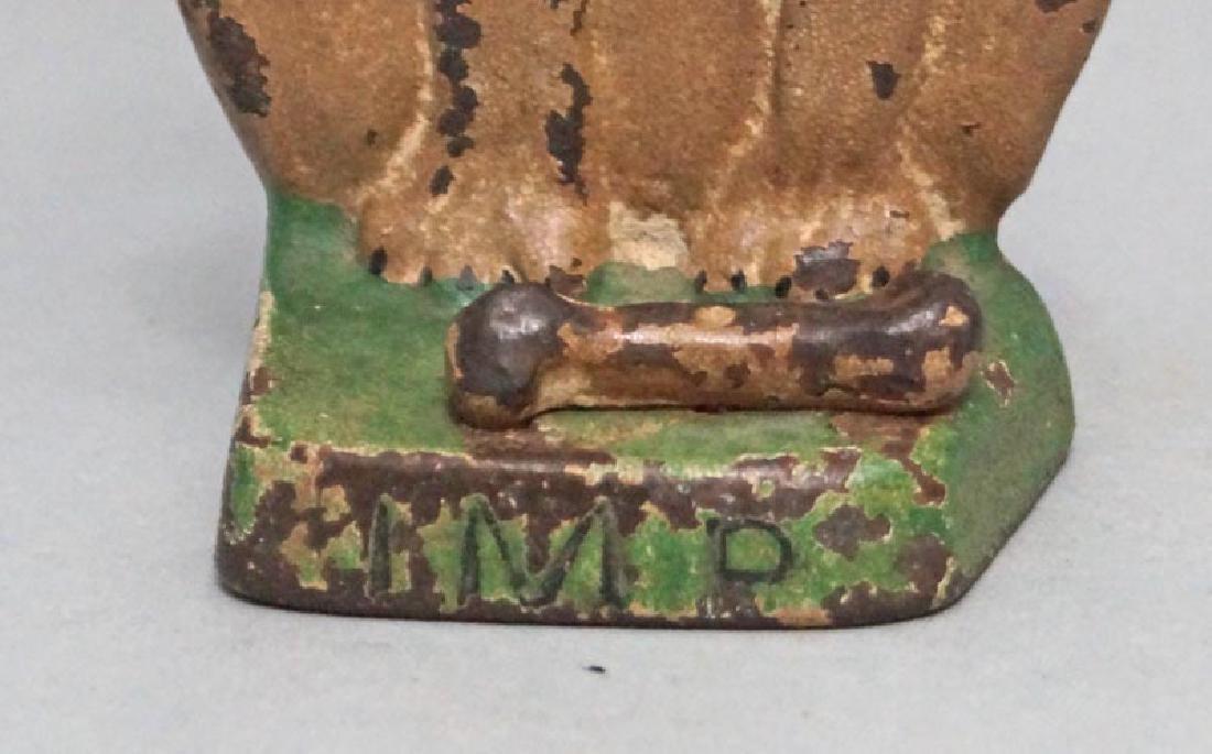 """Boston Terrier """"IMP"""" Hubley Doorstop Dated 1921 - 4"""