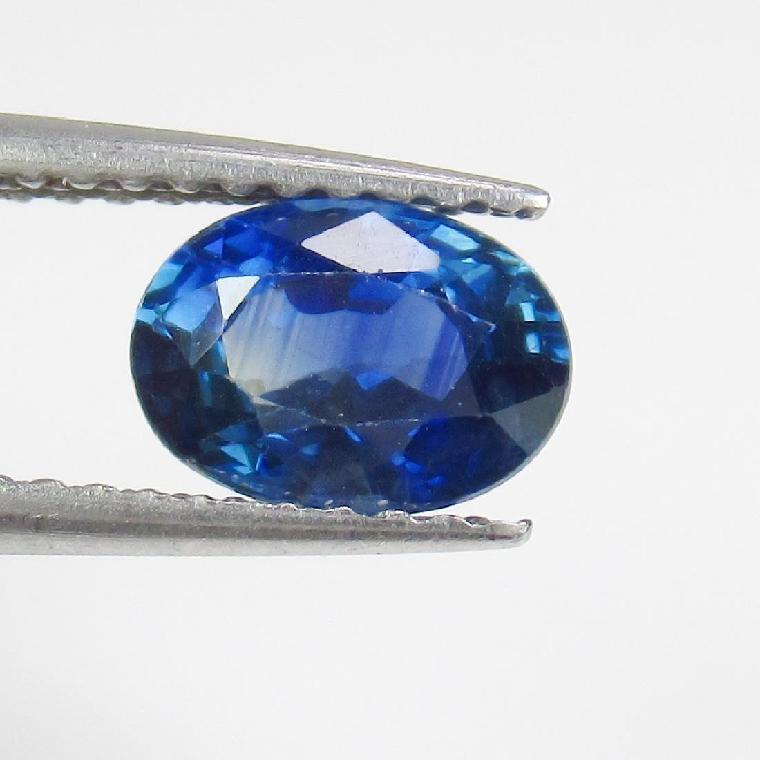 1.26 Ct Genuine SriLanka Blue Sapphire Nice Oval Cut
