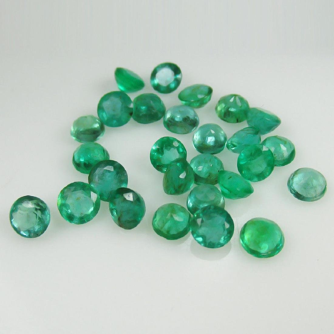 8.65 Ct Genuine 27 Loose Zambian Emerald Excellent