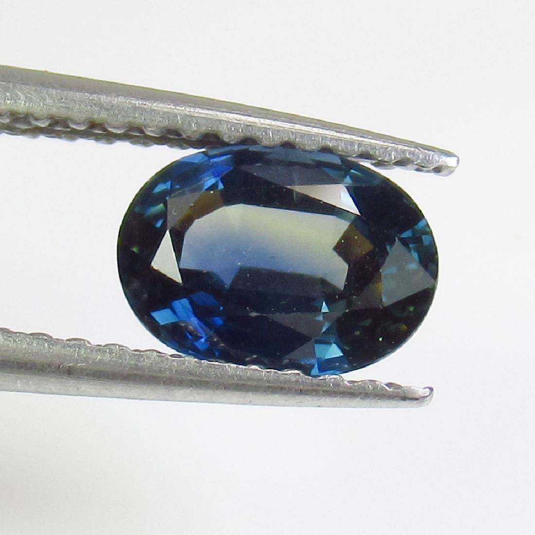 1.09 Ct Genuine SriLanka Blue Sapphire Nice Oval Cut