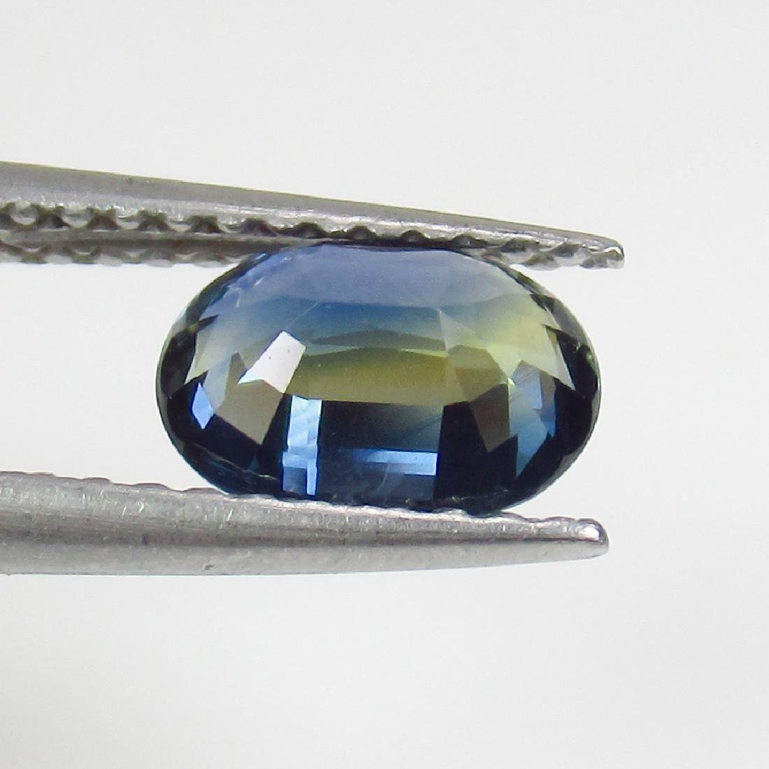 1.09 Ct Genuine SriLanka Blue Sapphire Nice Oval Cut - 2