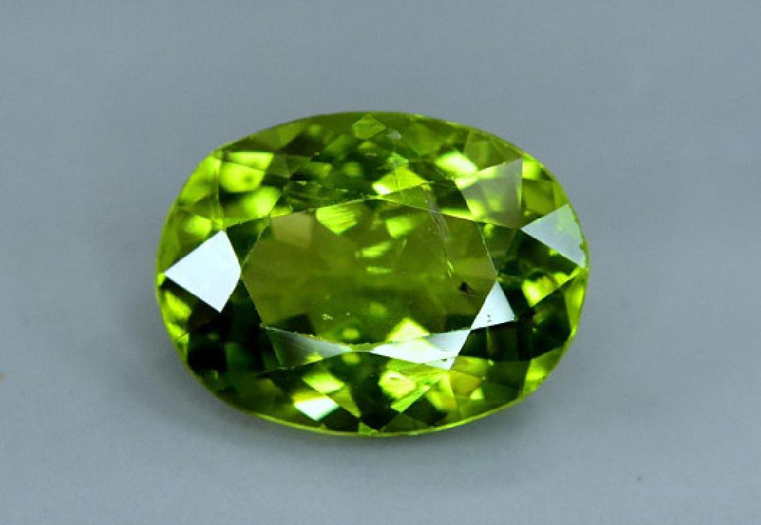 6.25 cts Top Grade Natural Olivine Green Natural - 2