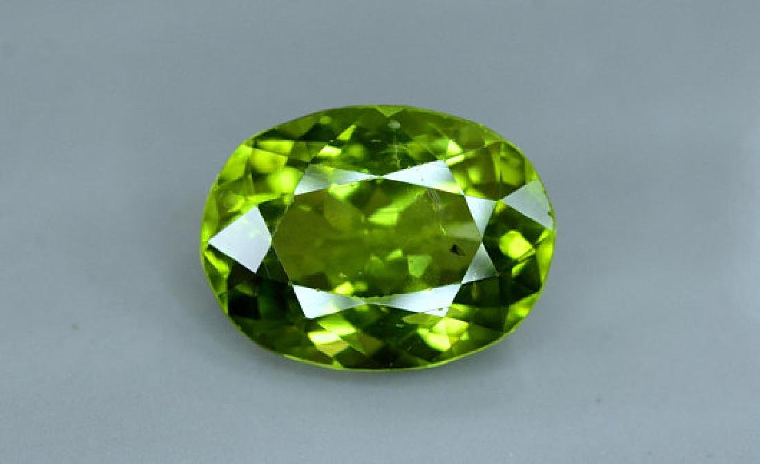 6.25 cts Top Grade Natural Olivine Green Natural - 3