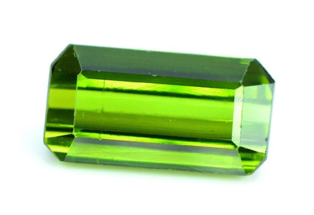 3.40 cts Green color Afghan tourmaline gemstone