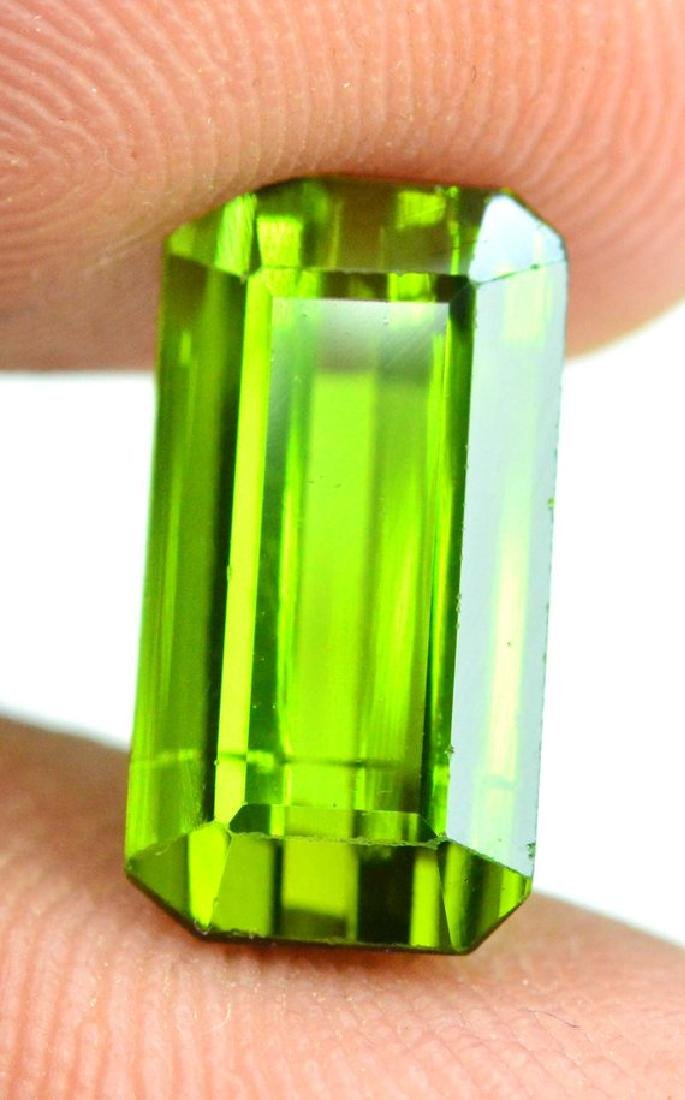 3.40 cts Green color Afghan tourmaline gemstone - 3
