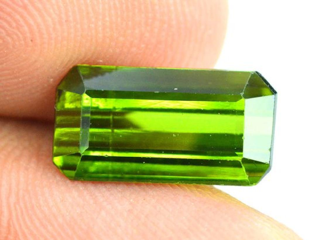 3.40 cts Green color Afghan tourmaline gemstone - 5