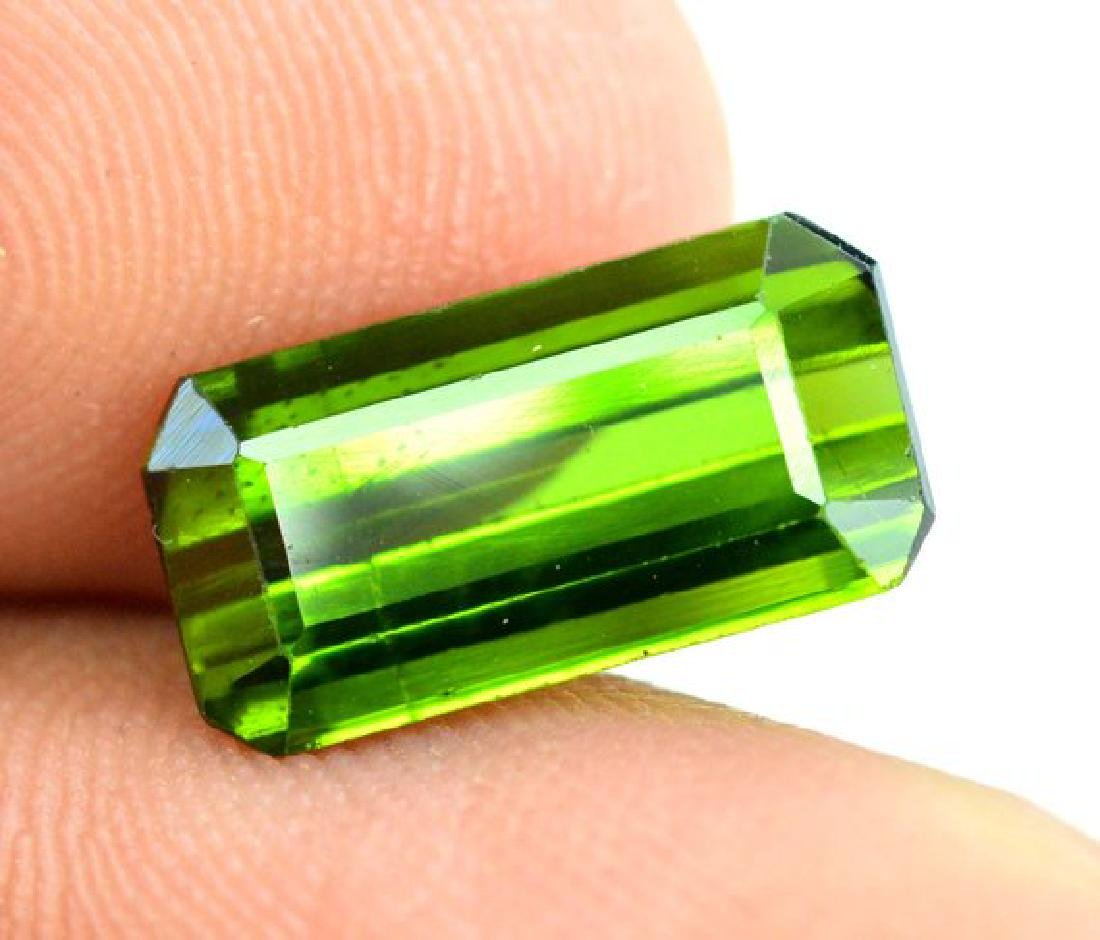 3.40 cts Green color Afghan tourmaline gemstone - 6