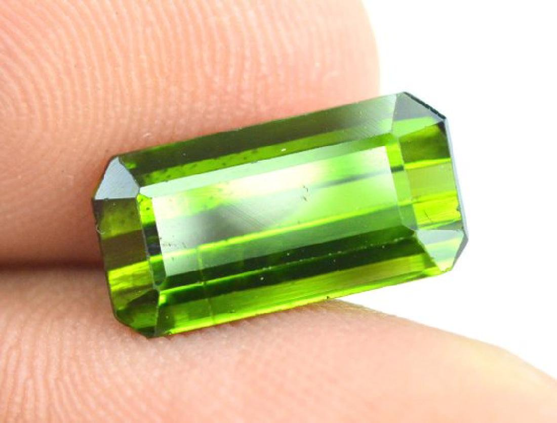 3.40 cts Green color Afghan tourmaline gemstone - 7