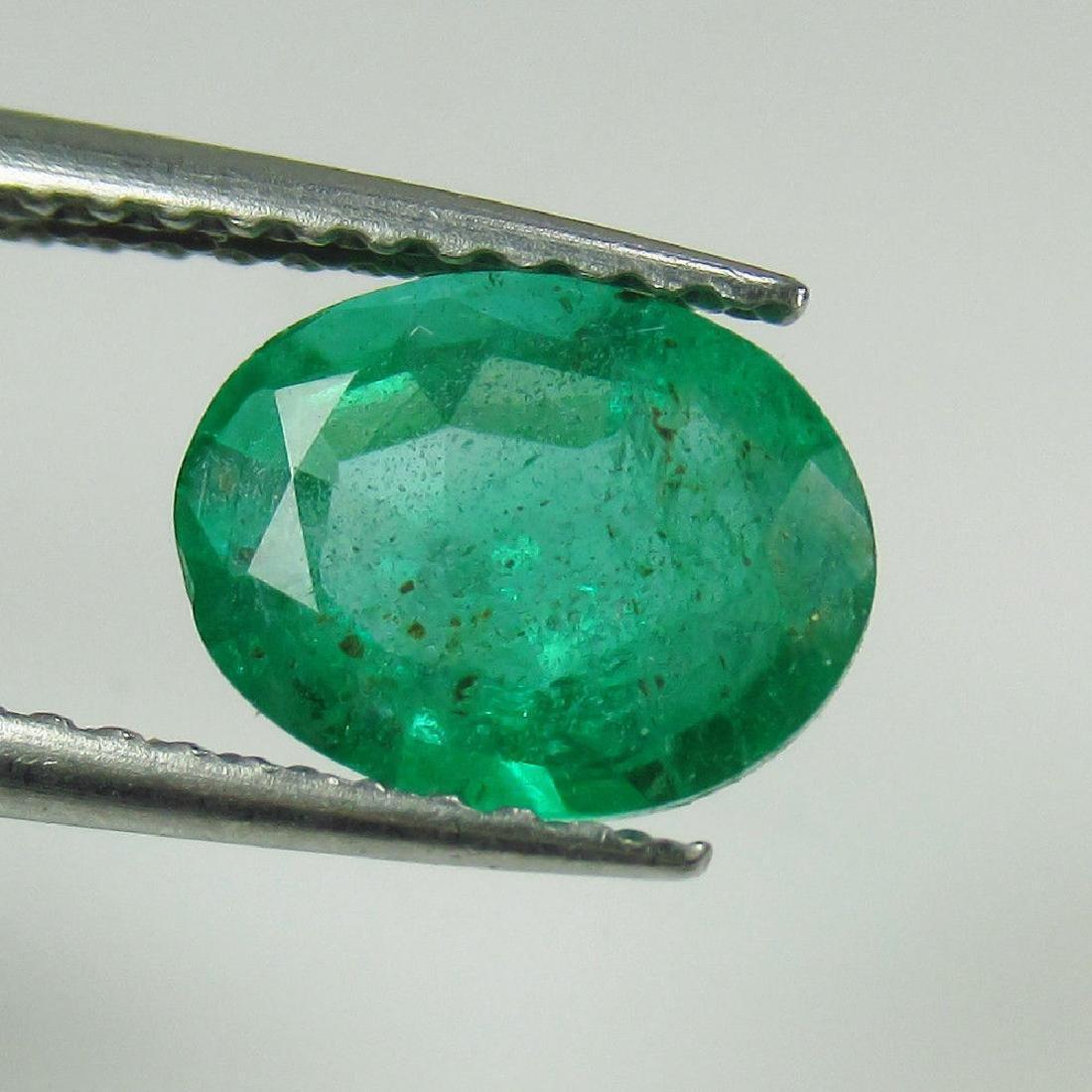 1.32 Ct Genuine Zambian Emerald Nice Oval Cut