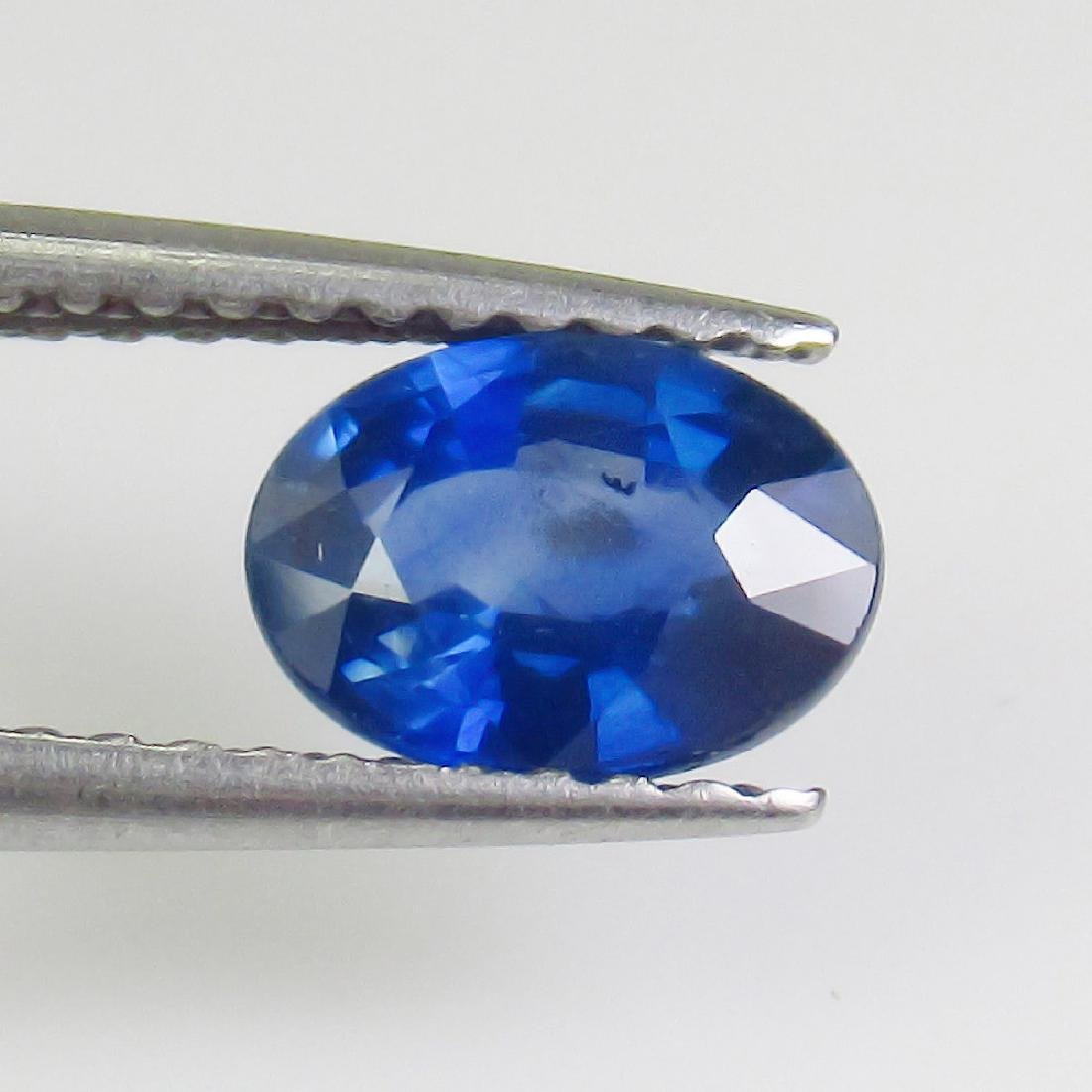 1.03 Ct Genuine SriLanka Blue Sapphire 7X5 mm Oval Cut