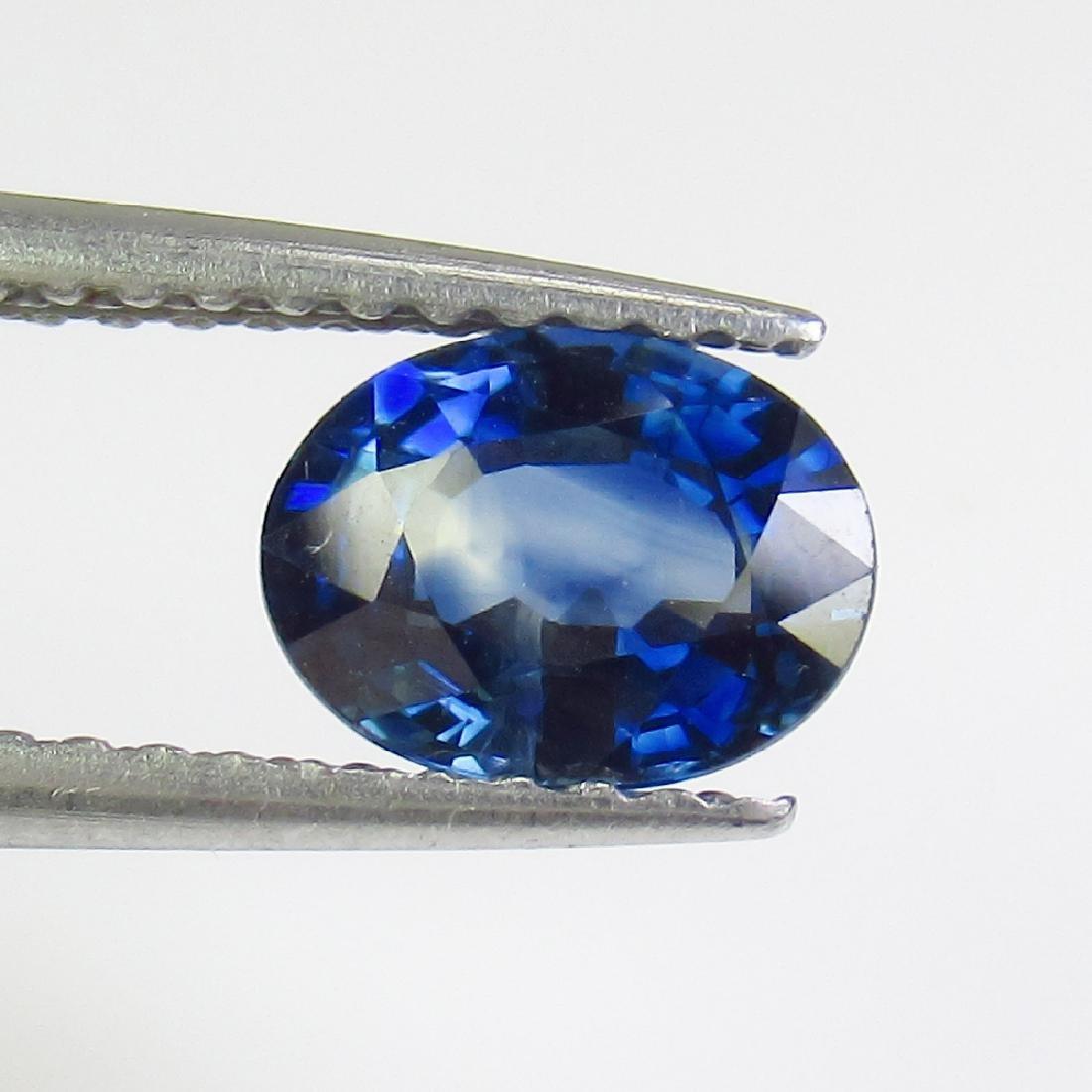 1.01 Ct Genuine SriLanka Blue Sapphire Nice Oval Cut