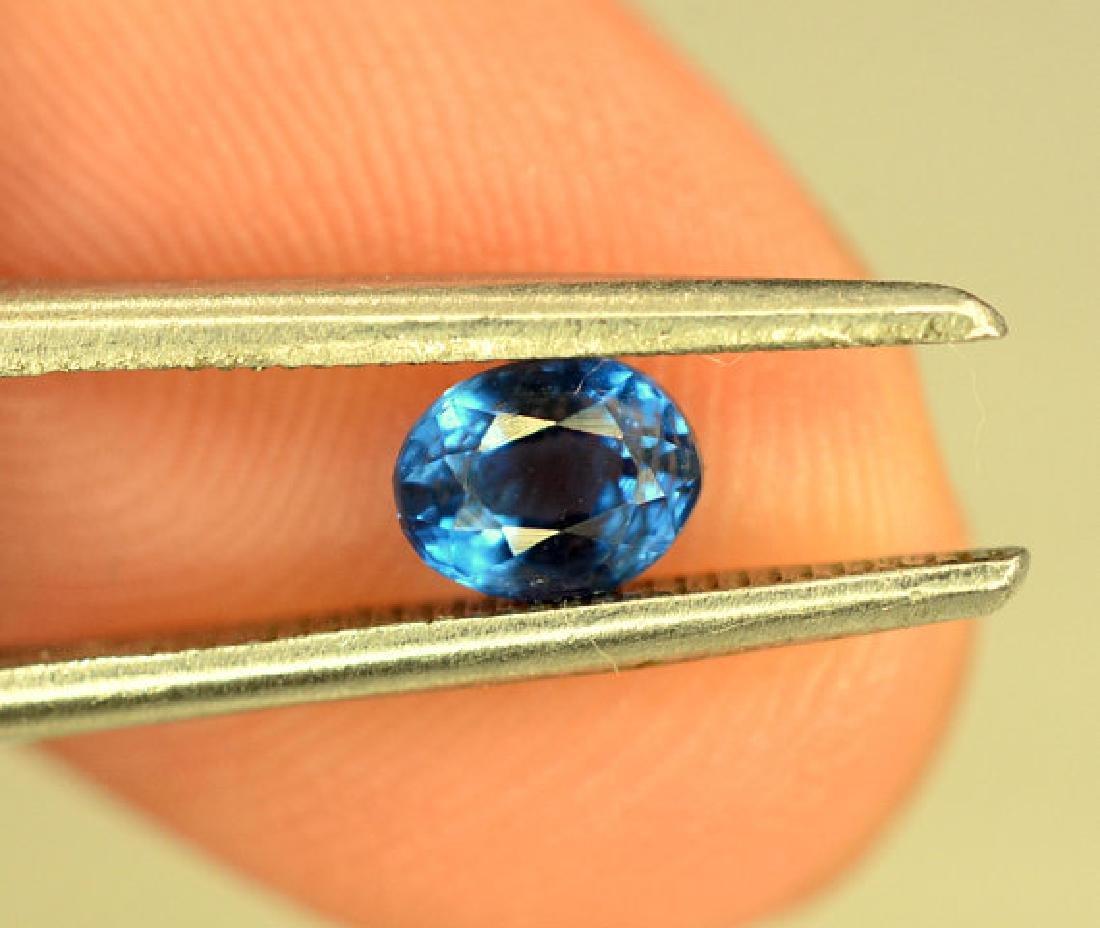 Super Quality 0.35 cts Eye Clean Rare Sapphire Blue - 10