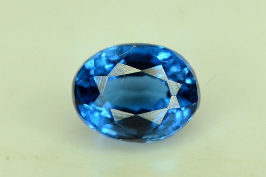 Super Quality 0.35 cts Eye Clean Rare Sapphire Blue