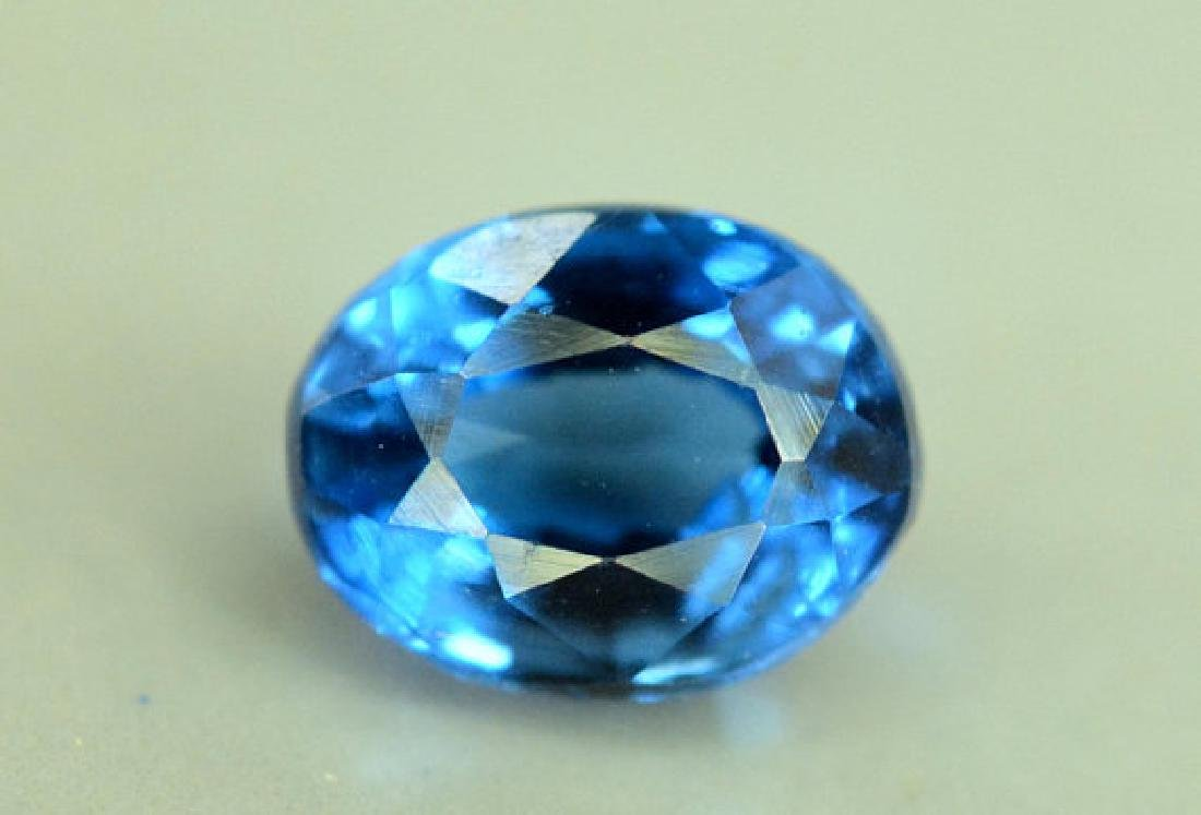 Super Quality 0.35 cts Eye Clean Rare Sapphire Blue - 5
