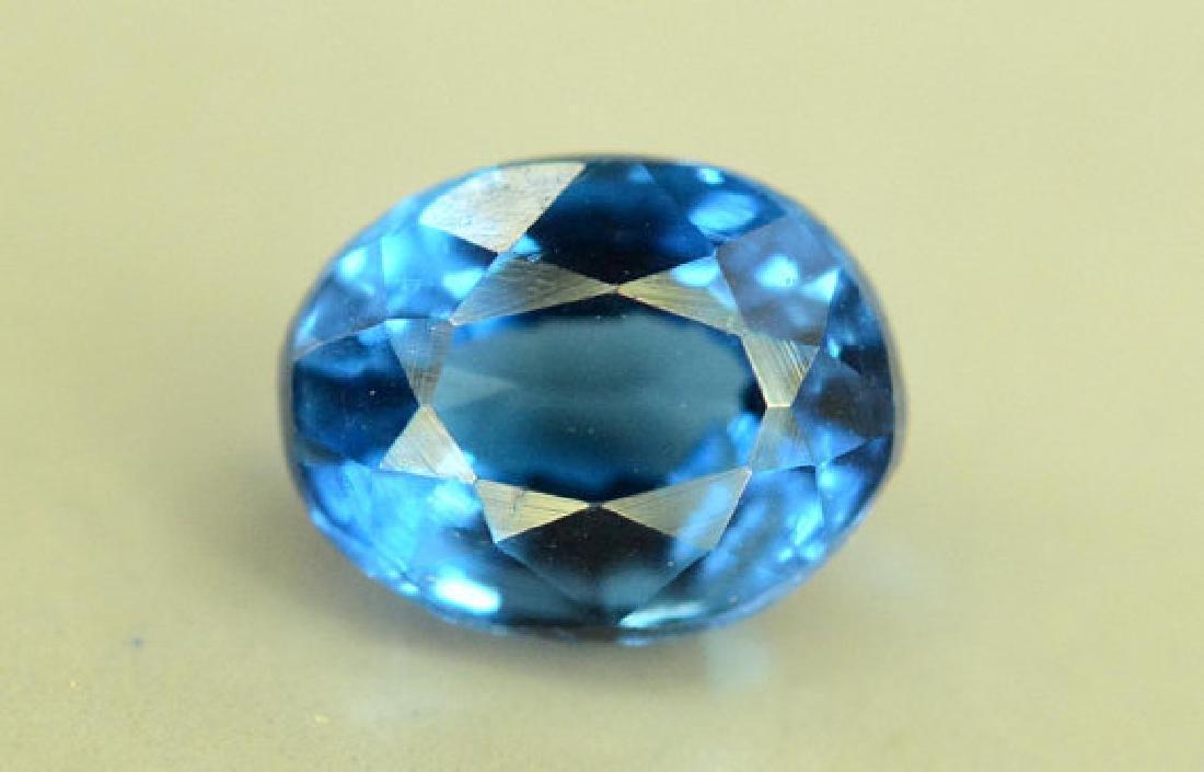 Super Quality 0.35 cts Eye Clean Rare Sapphire Blue - 6