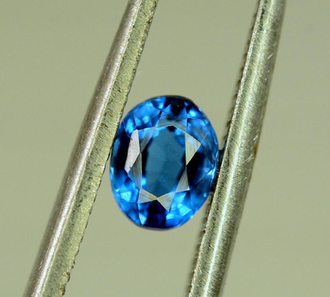 Super Quality 0.35 cts Eye Clean Rare Sapphire Blue - 7