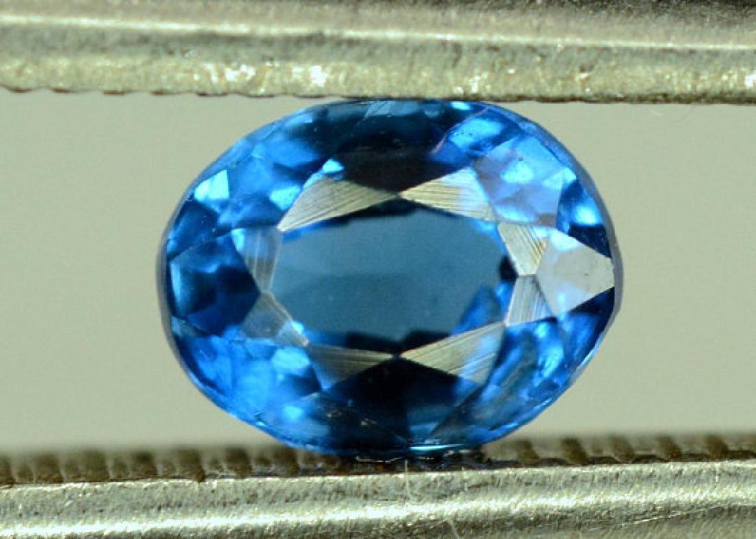 Super Quality 0.35 cts Eye Clean Rare Sapphire Blue - 8