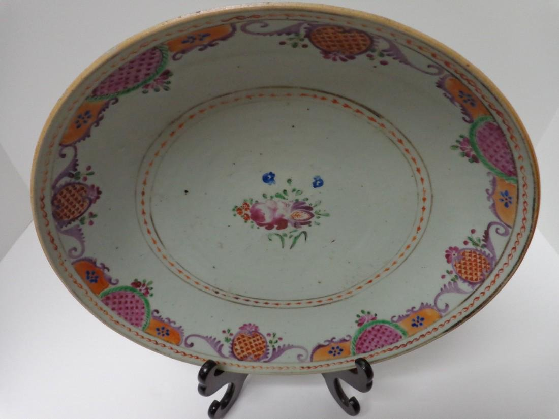 Chinese Antique Qianlong 18th Century Low Bowl or Fruit - 2