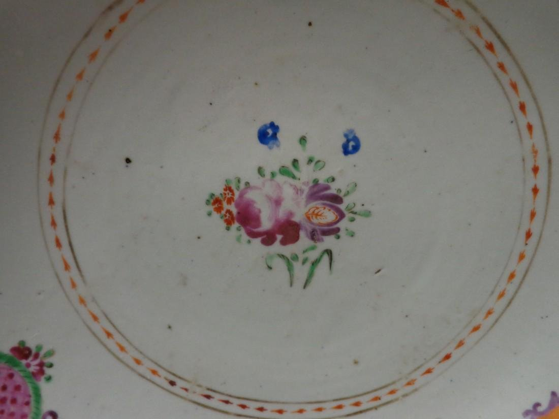 Chinese Antique Qianlong 18th Century Low Bowl or Fruit - 3