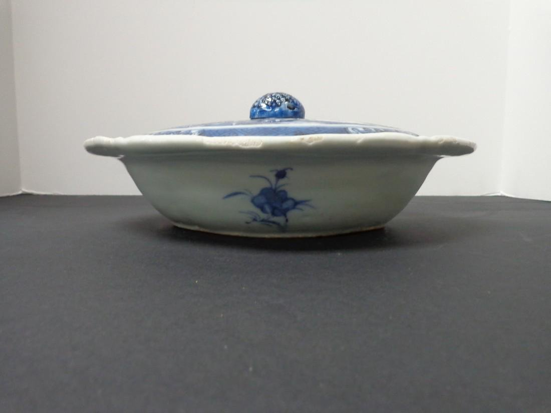 Chinese Export Vintage 19th Century Blue & White - 2