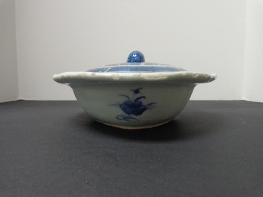 Chinese Export Vintage 19th Century Blue & White - 3