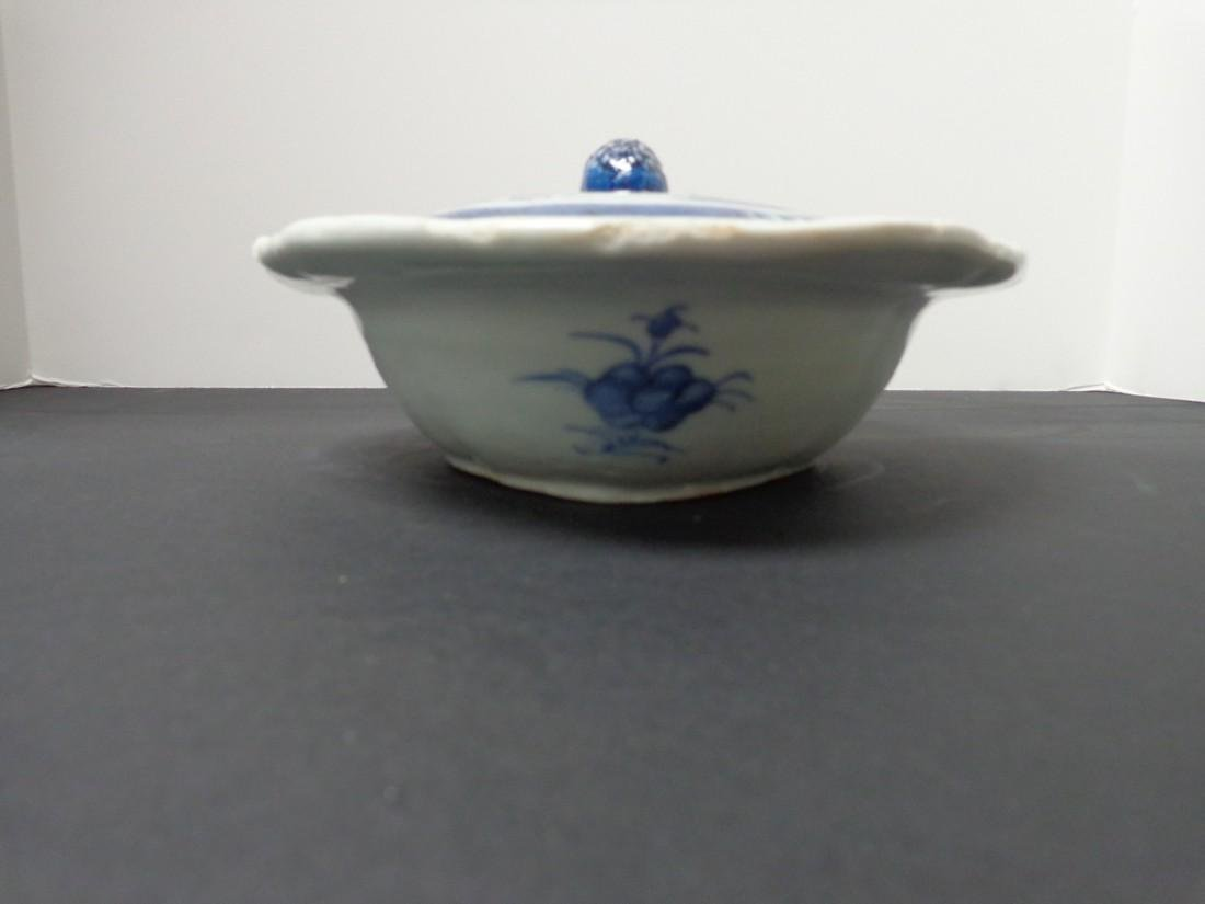Chinese Export Vintage 19th Century Blue & White - 5