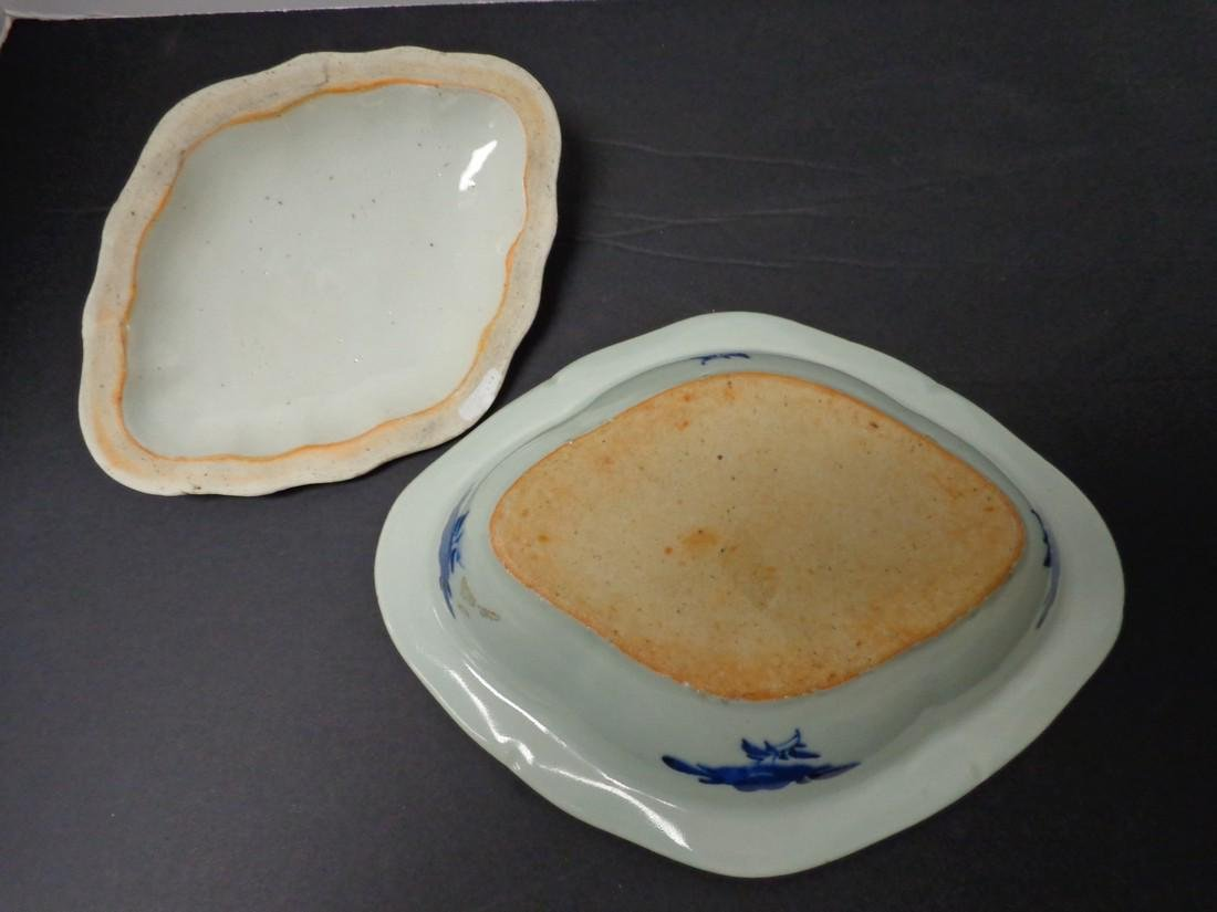 Chinese Export Vintage 19th Century Blue & White - 10
