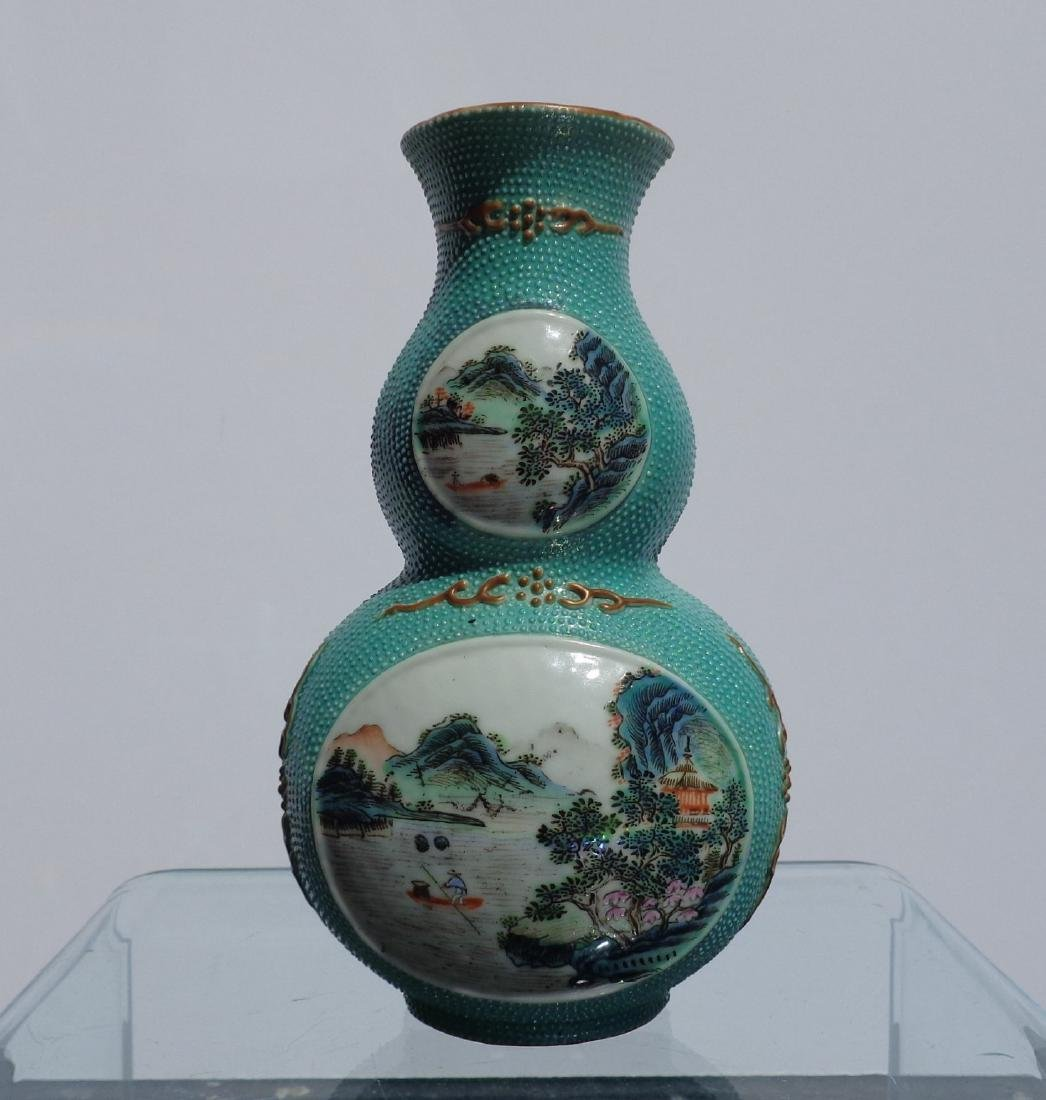 Chinese Antique Very Rare Porcelain Double Gourd