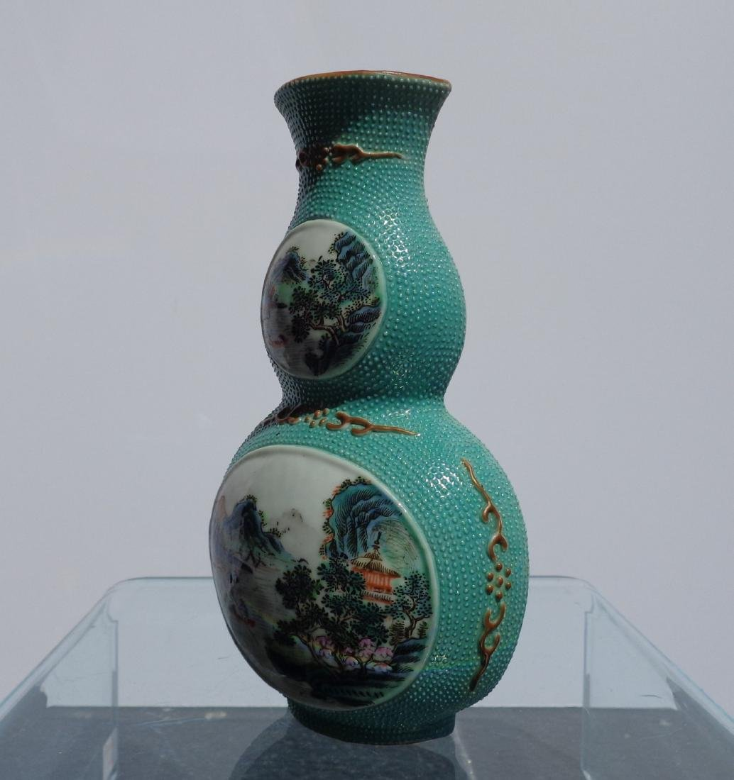 Chinese Antique Very Rare Porcelain Double Gourd - 2