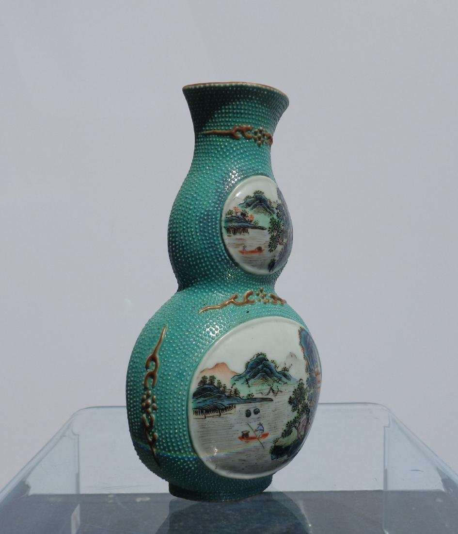 Chinese Antique Very Rare Porcelain Double Gourd - 3