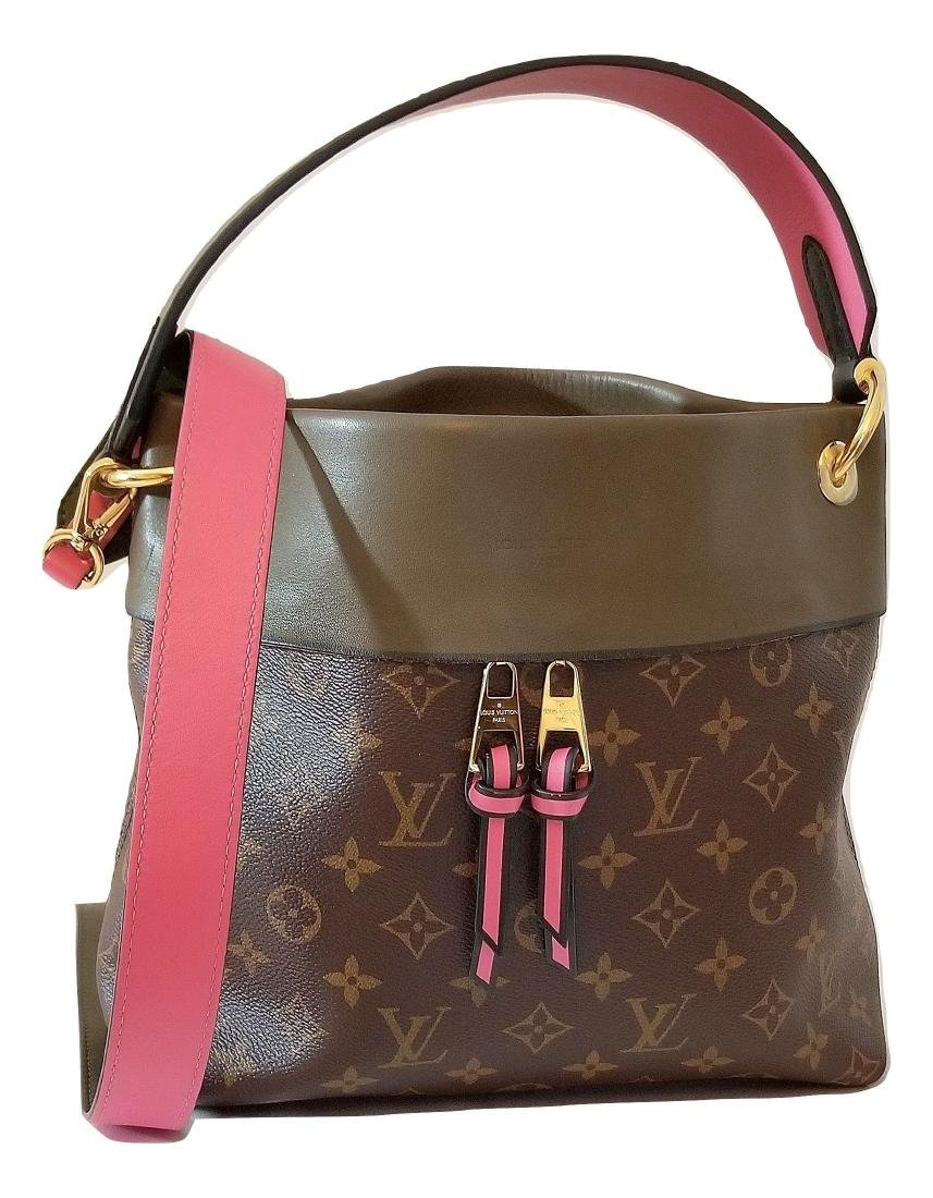 Louis Vuitton Tuileries Besace Bag with Strap in Olive