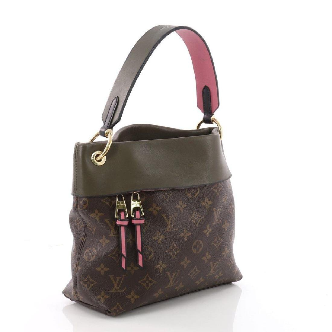Louis Vuitton Tuileries Besace Bag with Strap in Olive - 2