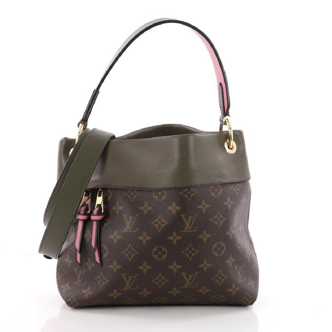 Louis Vuitton Tuileries Besace Bag with Strap in Olive - 3