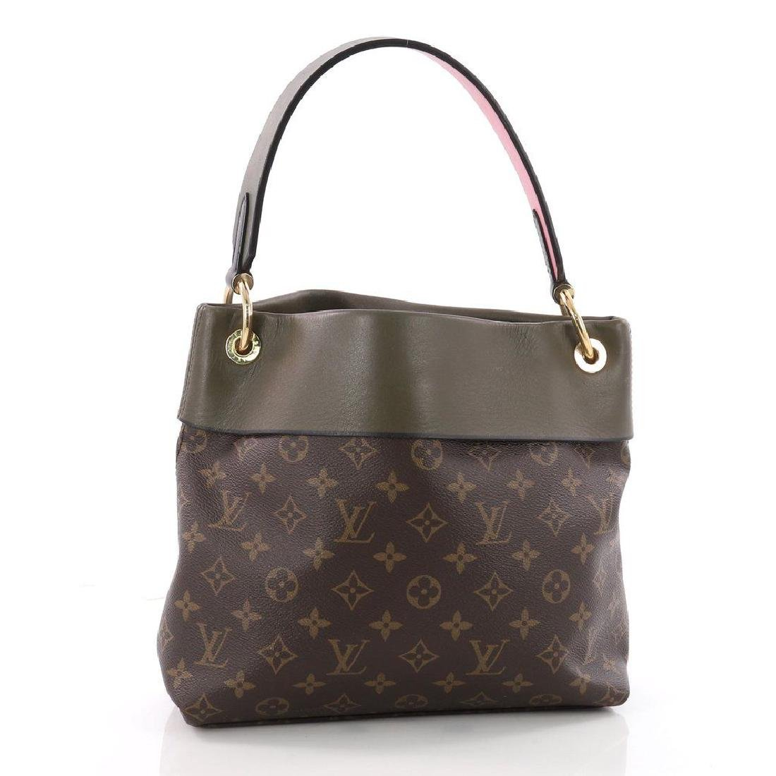 Louis Vuitton Tuileries Besace Bag with Strap in Olive - 4