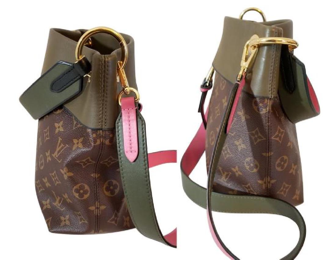 Louis Vuitton Tuileries Besace Bag with Strap in Olive - 5