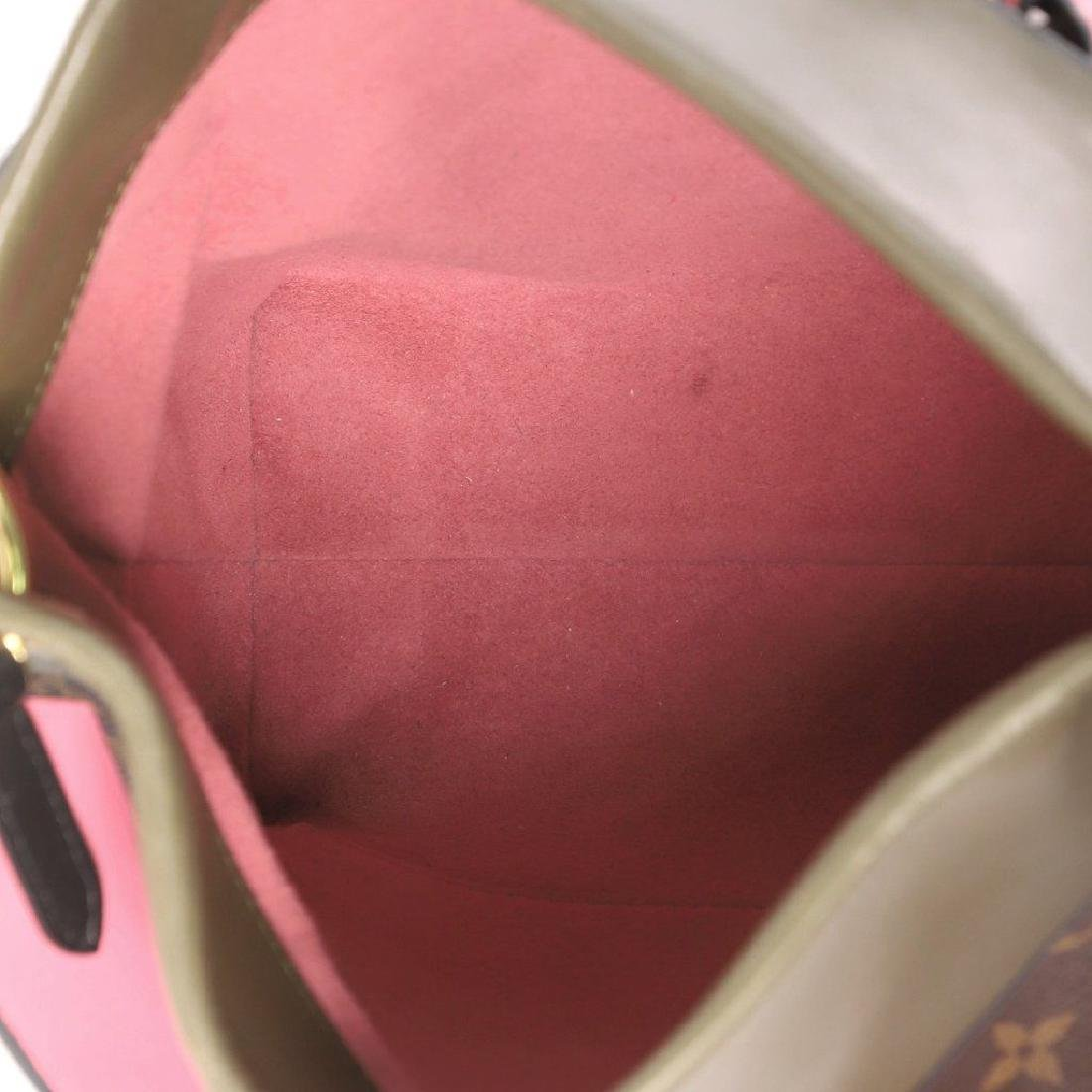 Louis Vuitton Tuileries Besace Bag with Strap in Olive - 6
