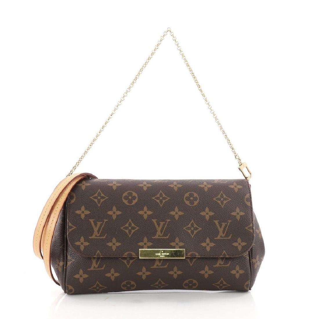 Authentic Louis Vuitton Favorite MM Crossbody Bag with