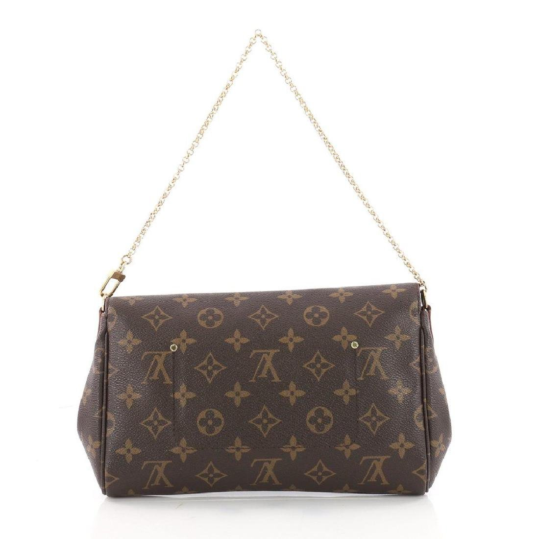 Authentic Louis Vuitton Favorite MM Crossbody Bag with - 3