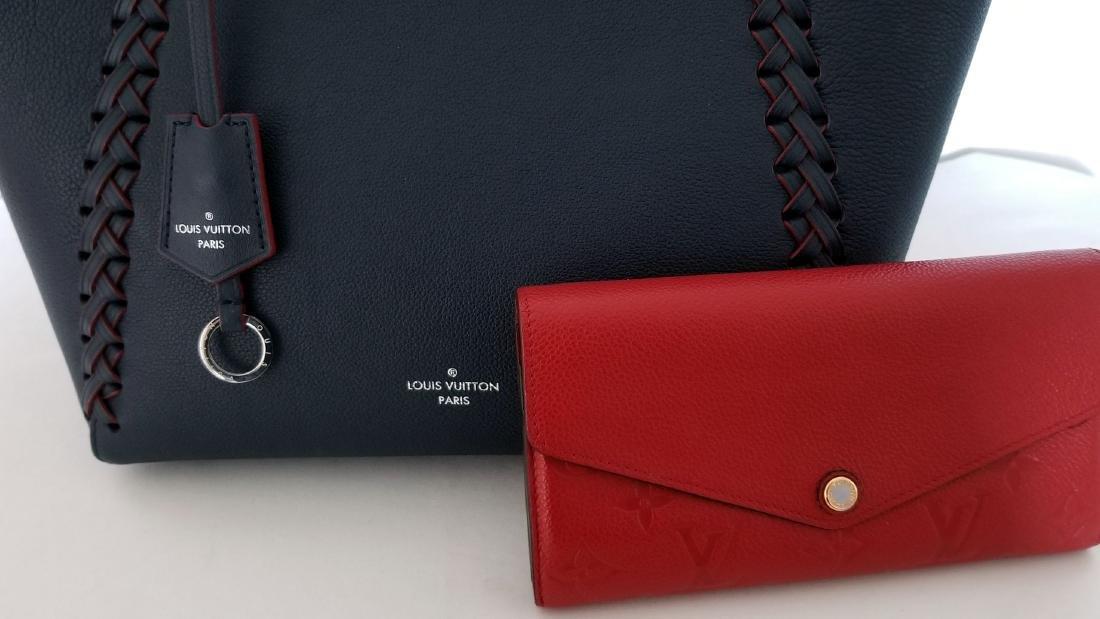 Louis Vuitton Cabas Lockme Braided Shoulder Blue - 10