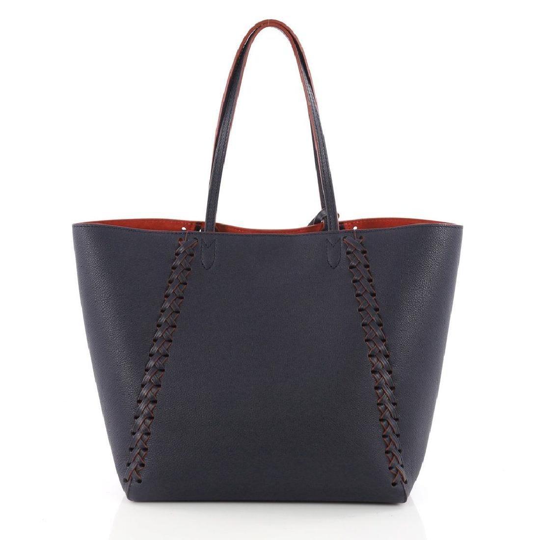 Louis Vuitton Cabas Lockme Braided Shoulder Blue - 3