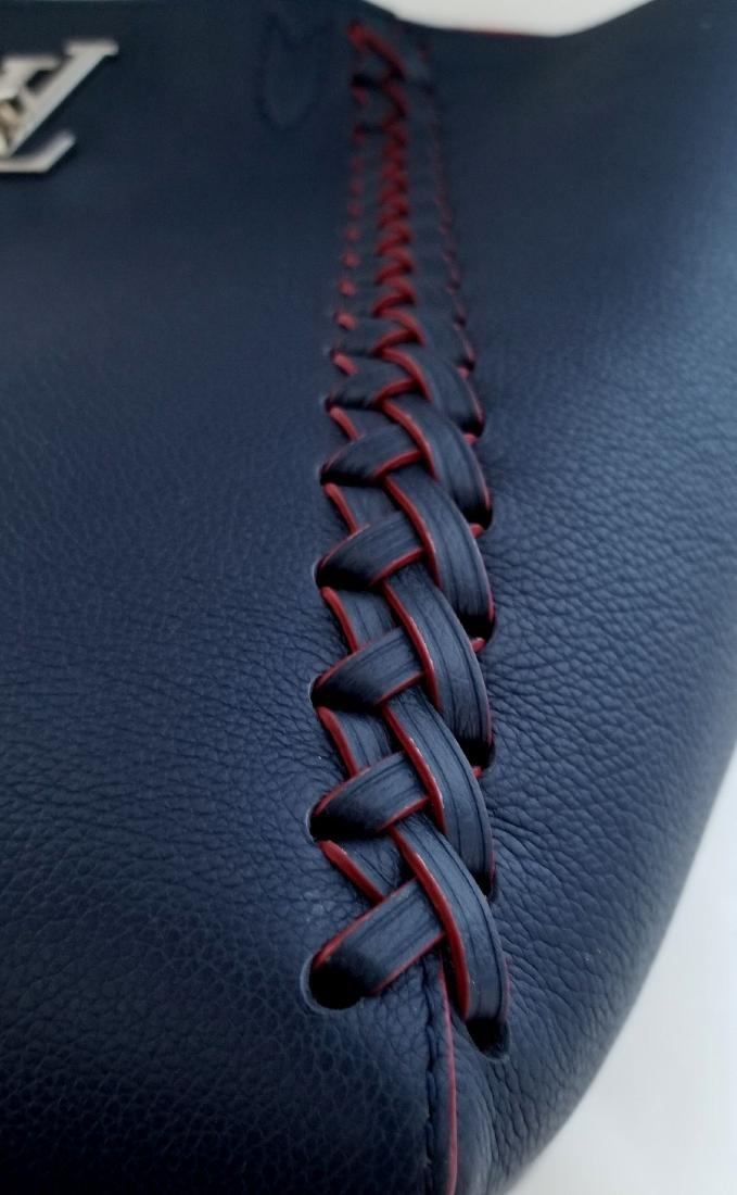 Louis Vuitton Cabas Lockme Braided Shoulder Blue - 5