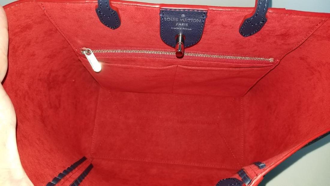 Louis Vuitton Cabas Lockme Braided Shoulder Blue - 6