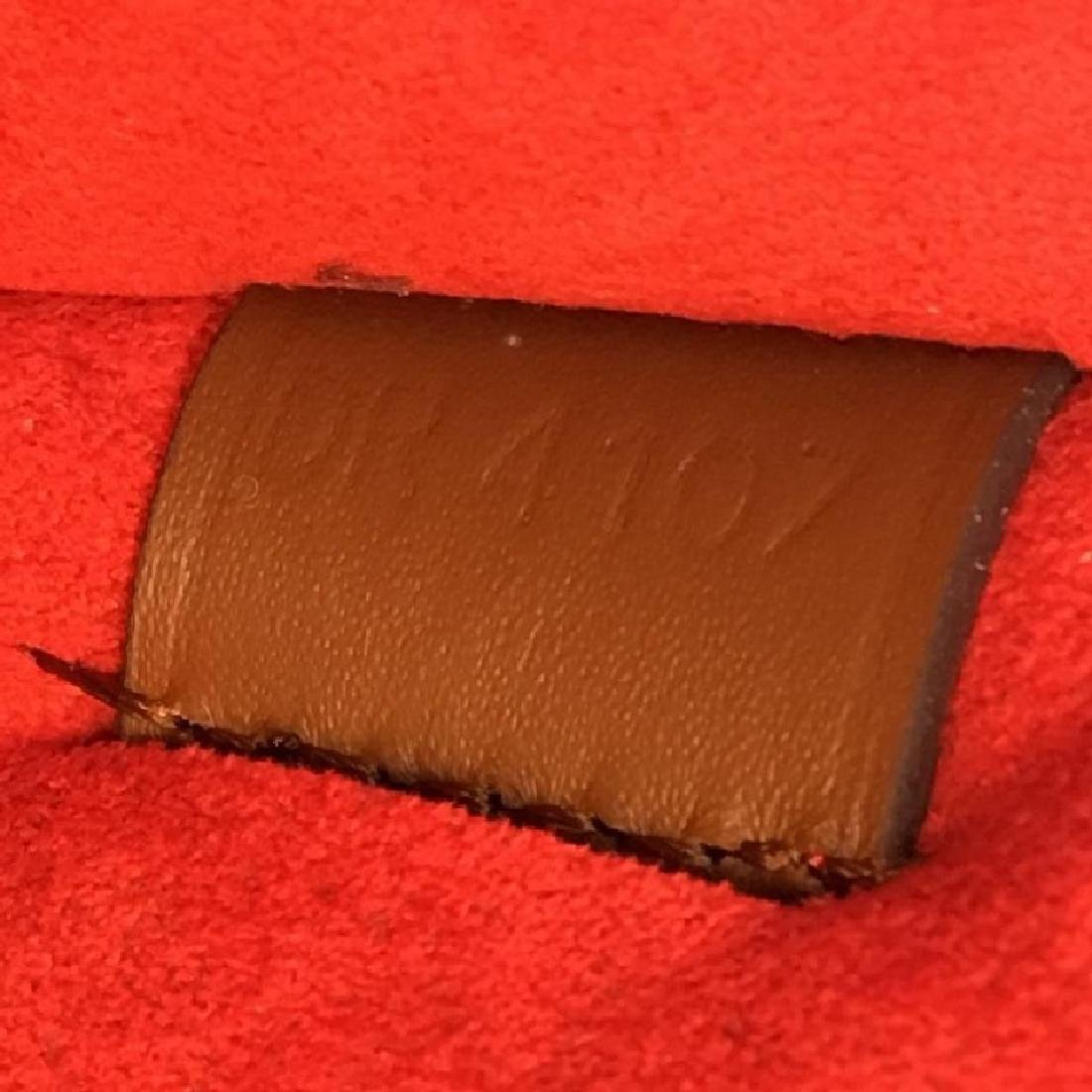 Authentic Louis Vuitton Very Tote Red Monogram Leather - 6