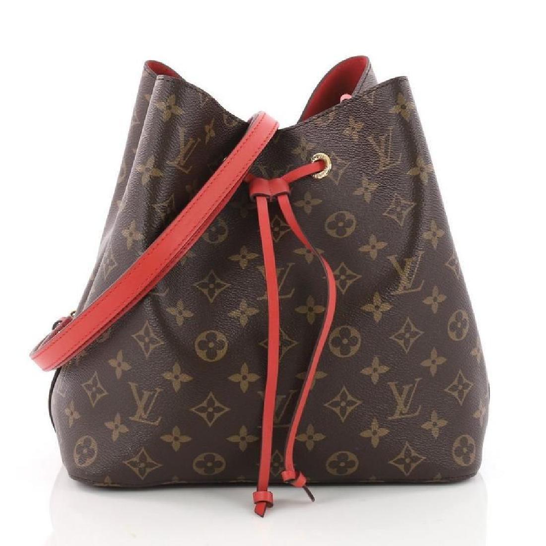 Louis Vuitton Neonoe Monogram Bucket Bag Drawstring