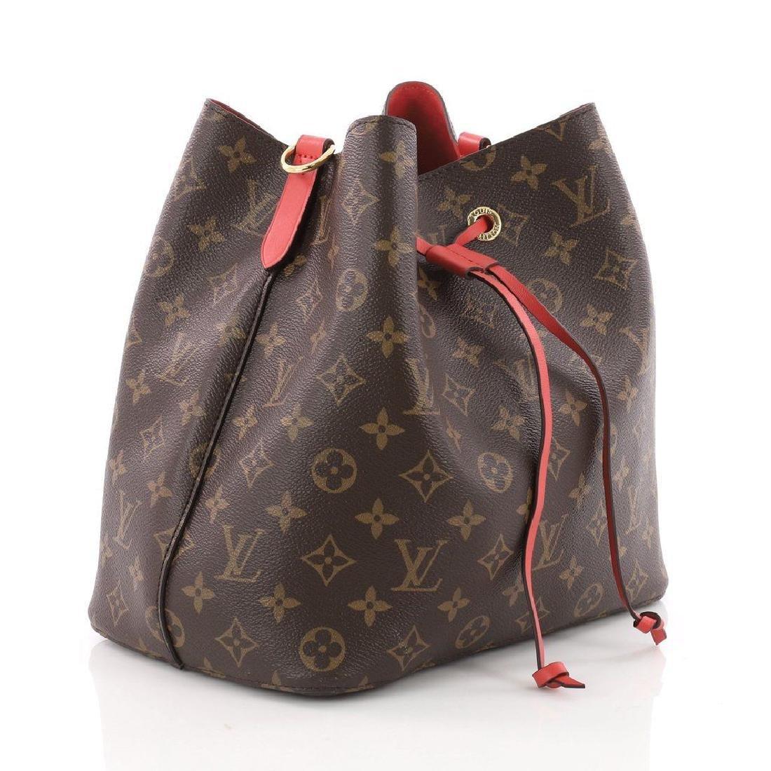 Louis Vuitton Neonoe Monogram Bucket Bag Drawstring - 2