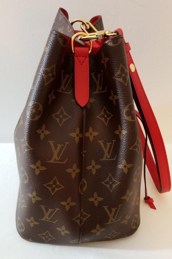 Louis Vuitton Neonoe Monogram Bucket Bag Drawstring - 6