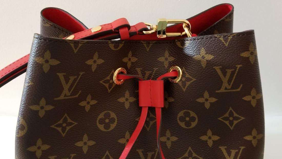 Louis Vuitton Neonoe Monogram Bucket Bag Drawstring - 9