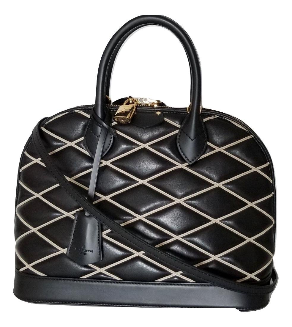 Limited Edition Louis Vuitton Black Diamond Alma PM