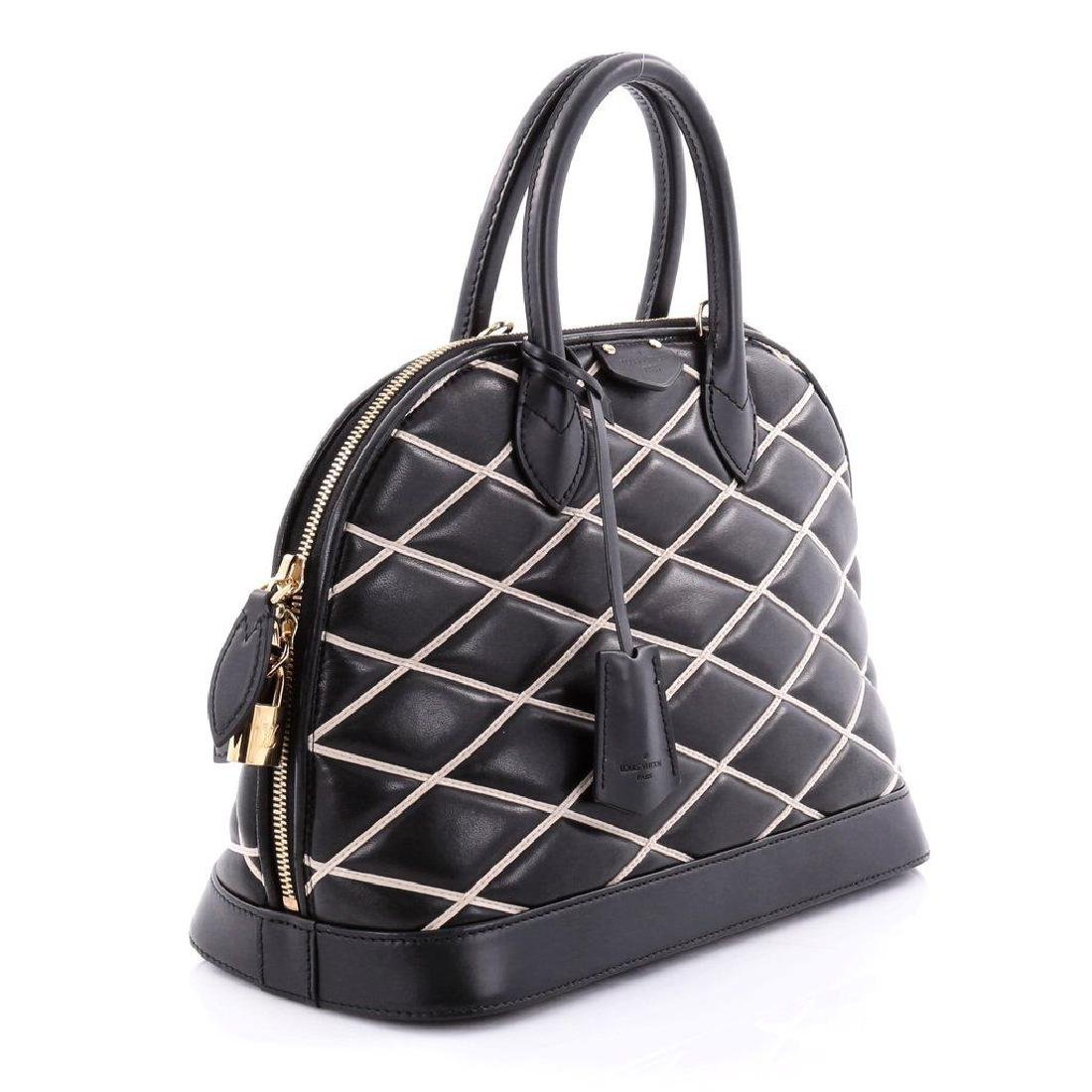 Limited Edition Louis Vuitton Black Diamond Alma PM - 2