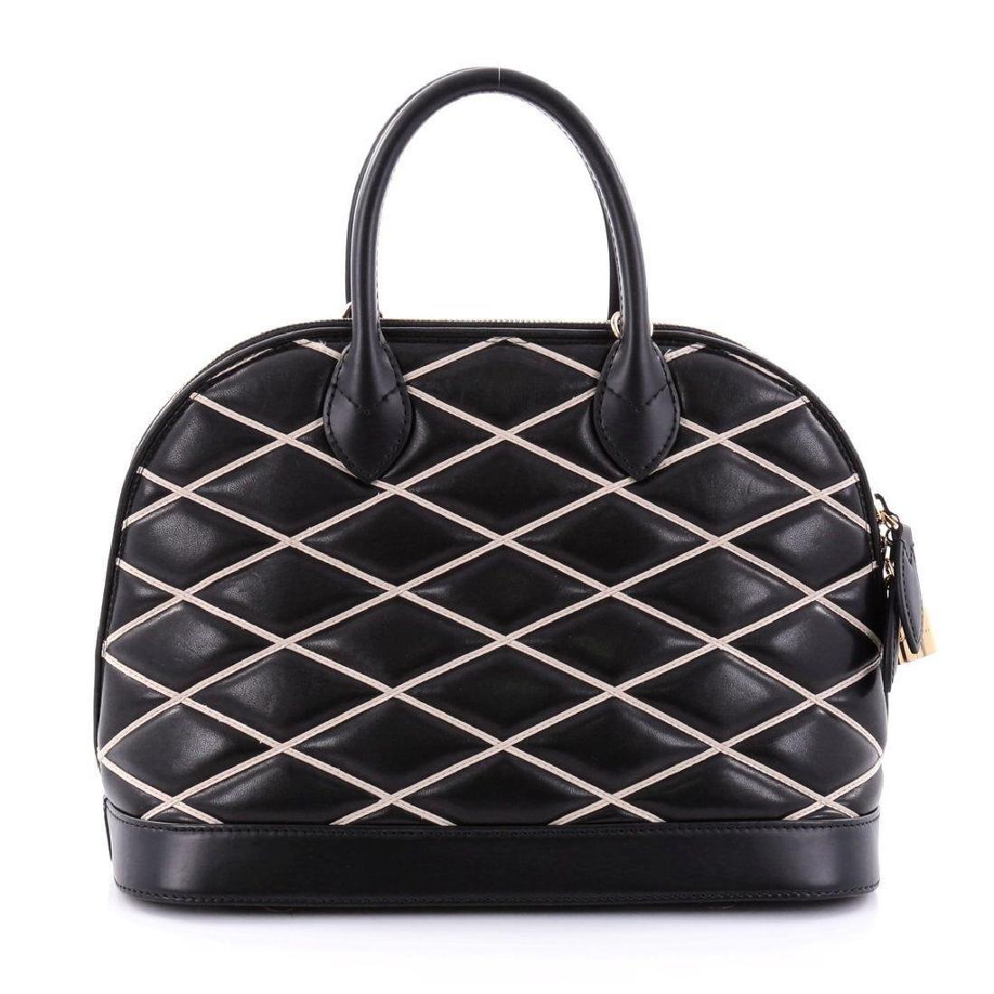 Limited Edition Louis Vuitton Black Diamond Alma PM - 3